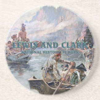 ABH Lewis and Clark NHS Coaster
