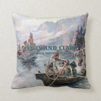 ABH Lewis and Clark NHS Throw Pillow