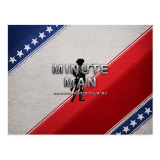 ABH Minute Man Postcard