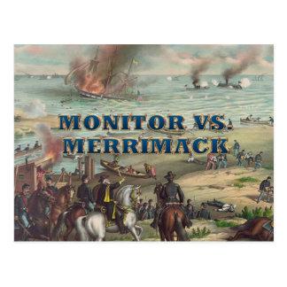 ABH Monitor vs Merrimac Postcard