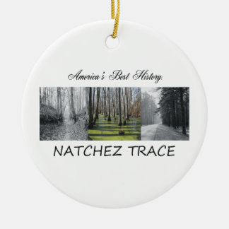 ABH Natchez Trace Ceramic Ornament