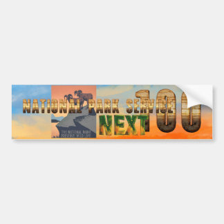 ABH National Parks Next 100 Bumper Sticker
