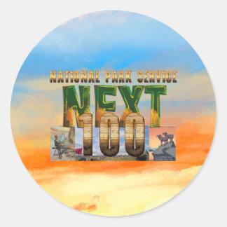 ABH National Parks Next 100 Round Sticker