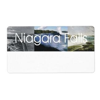 ABH Niagara Falls Shipping Label