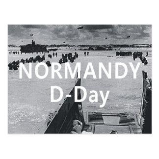 ABH Normandy Postcard