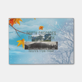 ABH North Cascades Post-it Notes