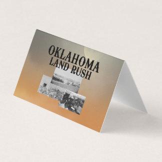 ABH Oklahoma Land Rush Business Card