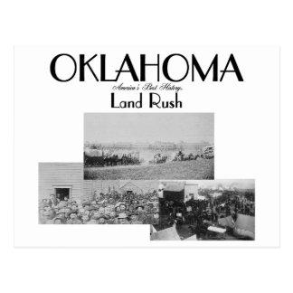 ABH Oklahoma Land Rush Postcard