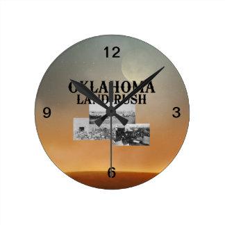 ABH Oklahoma Land Rush Wallclocks