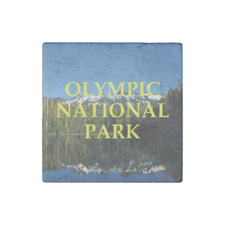 ABH Olympic National Park Stone Magnets