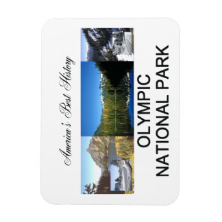 ABH Olympic NP Rectangular Photo Magnet