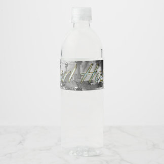 ABH Pearl Harbor Water Bottle Label