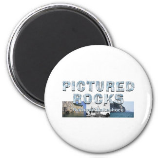 ABH Pictured Rocks 2 Inch Round Magnet