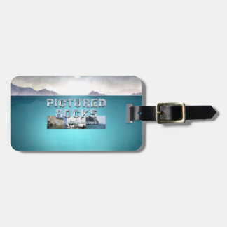 ABH Pictured Rocks Luggage Tag