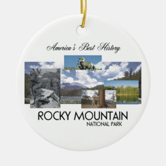 ABH Rocky Mountain NP Ceramic Ornament