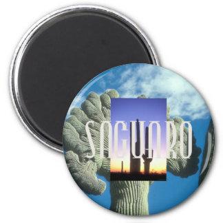 ABH Saguaro 2 Inch Round Magnet