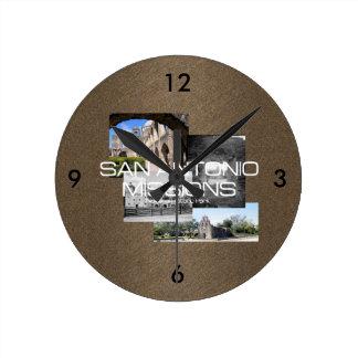 ABH San Antonio Round Clock