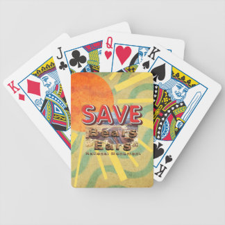 ABH Save Bears Ears National Monument Bicycle Playing Cards