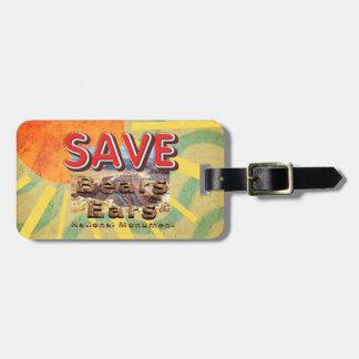 ABH Save Bears Ears National Monument Luggage Tag
