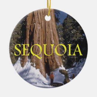 ABH Sequoia Ceramic Ornament