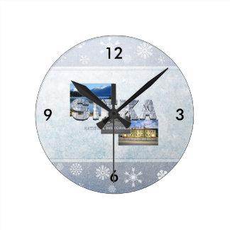ABH Sitka Round Clock