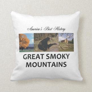 ABH Smoky Mountains Throw Pillow