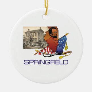 ABH Springfield Ceramic Ornament