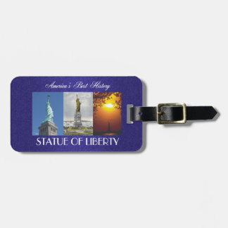 ABH Statue of Liberty Luggage Tag