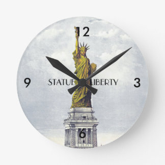ABH Statue of Liberty Round Clock