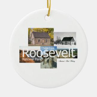 ABH Theodore Roosevelt NP Ceramic Ornament