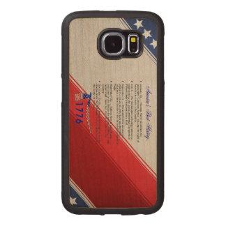 ABH Timeline 1776 Wood Phone Case