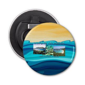 ABH Virgin Islands Button Bottle Opener