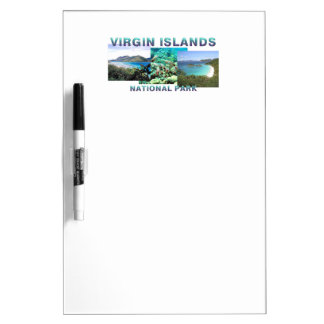 ABH Virgin Islands Dry Erase Board