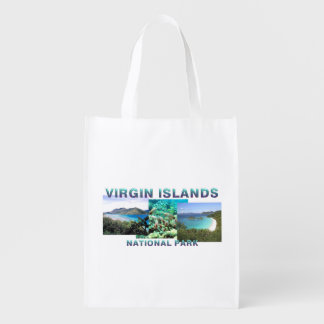 ABH Virgin Islands Reusable Grocery Bag