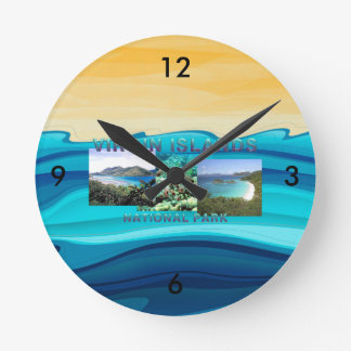 ABH Virgin Islands Wall Clock