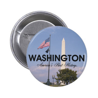 ABH Washington DC 2 Inch Round Button