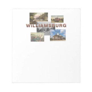 ABH Williamsburg Notepad