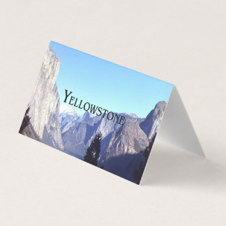 ABH Yellowstone Business Card