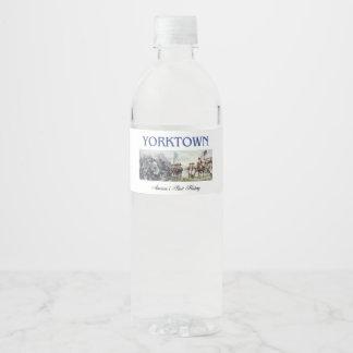 ABH Yorktown Water Bottle Label