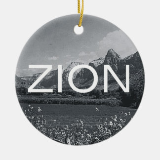 ABH Zion Ceramic Ornament