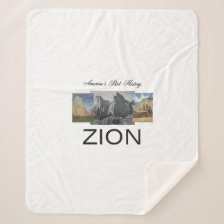 ABH Zion Sherpa Blanket