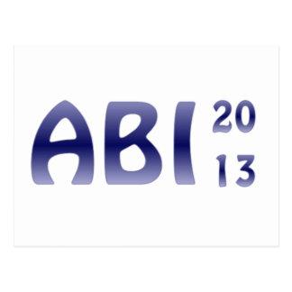 ABI 2013 POSTCARD