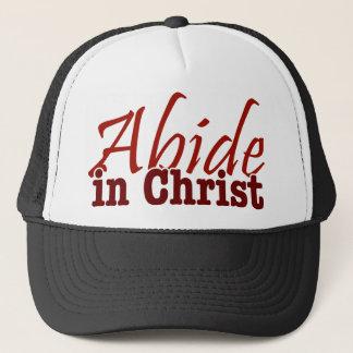 Abide in Christ Trucker Hat