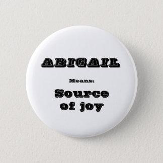 Abigail 2 Inch Round Button