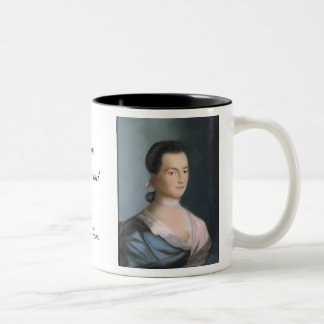 Abigail Adams Portrait & Quote Mug