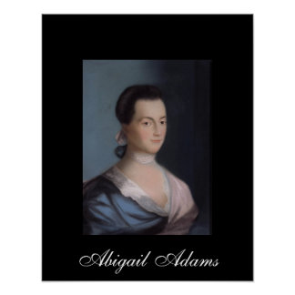 Abigail Adams Poster Print