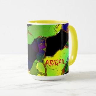Abigail Full Colour Tea Mugs