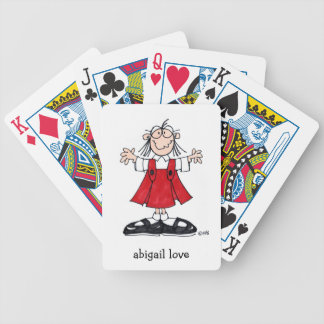 ABIGAIL LOVE DECK OF PLAYING CARDS