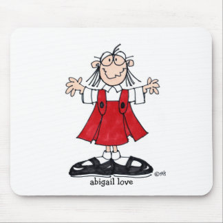 abigail love mousepad