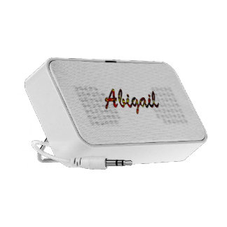 Abigail Notebook Speaker